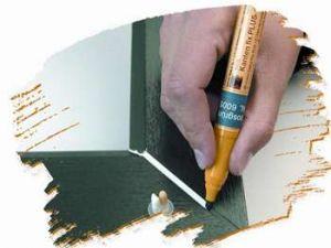 Zvětšit fotografii - Opravný fix na PVC okna - SCHOKOBRAUN