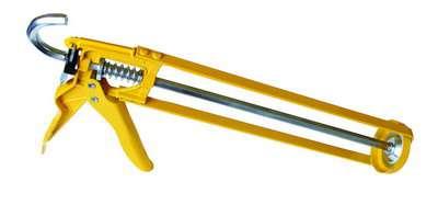 Vytlač. pistole se zpětným odskokem 310ml - ruční vytlačovací pistole na tmel