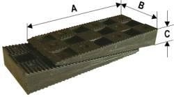 Montážní plastový klín 80/30/10 vhodný pro montáž oken a dveří HEICKO