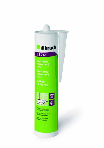 GS241 Sanitární silikonový tmel