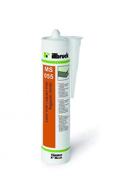 MS055 Lepicí tmel, Polymer bílý 290 ml - kartuše