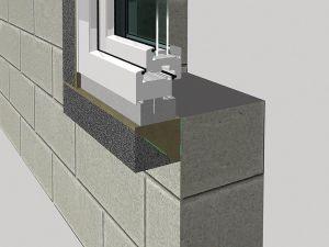 Zateplovací profil pro předsazená okna