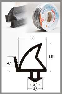 Těsnění pro PVC okna SP 4246 - pro systémy ALUPLAST - FINSTRAL - KÖMMERLING - PLUS-TEC - THYSSEN