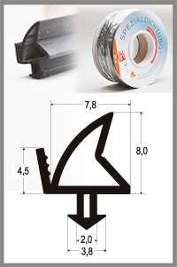 Těsnění pro PVC okna SP 4289