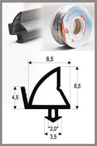 Těsnění pro PVC okna SP 4385