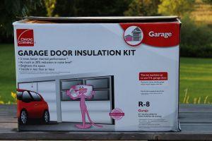 Owens Corning zateplení garážových vrat - Kit