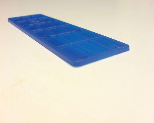 Vymezovací plastové podložky rozměr 2-30-100mm
