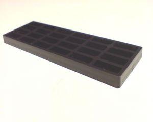 Vymezovací plastové podložky 5 / 41 / 100 mm - trojsklo