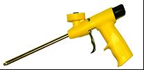 Pistole na PU pěnu plastová FL4 Lehká aplikační pistole se závitovým způsobem uchycení plechovky