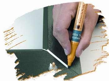 Opravný a retušovací fix KANTEN-FIX PLUS na PVC okna v dekoru OŘECH. REN 2178.007