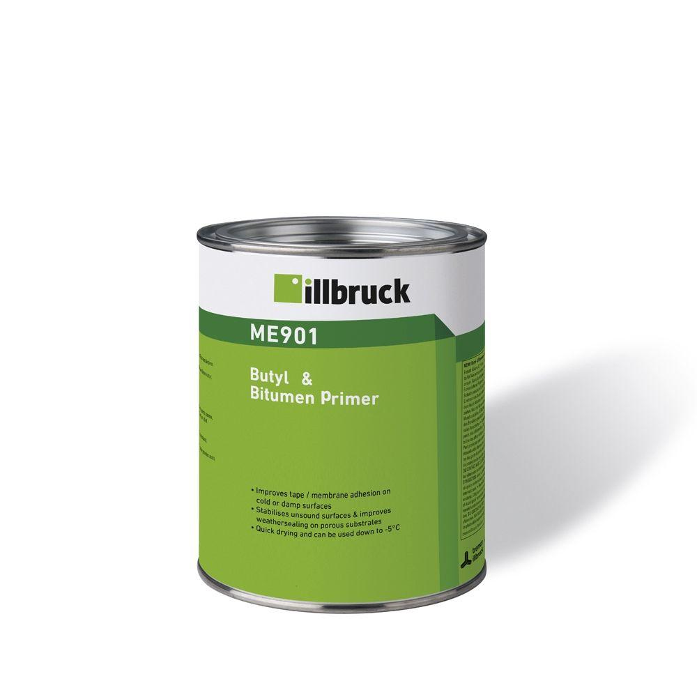 ME901 B&B Primer illbruck Primer pro aplikaci butylových a bitumenových pásek.