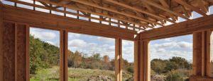 Montáž okna na dřevěnou konstrukci