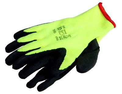 pletené pracovní rukavice